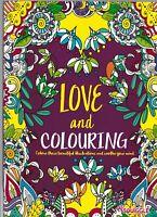 ADVANCED COLOURING BOOK - LOVE & COLOURING