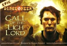 EPIC DUNGEONEER CALL OF THE LICH LORD Card Game - NEW & SEALED Atlas Games