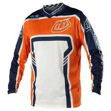 TROY LEE DESIGNS TLD mens motocross GP AIR jersey MEDIUM orange / blue