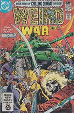 DC comics book WEIRD WAR TALES # 104 oct  1981  [ A3 ]
