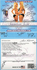 BENCHWARMER SIGNATURE SERIES - AUTOGRAPHED BOX - SEALED / 9 AUTOS ON BOX !!