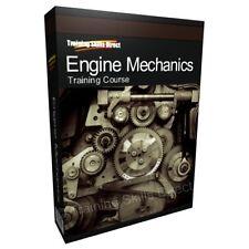 Engine Mechanic Repair Design Hydraulics Auto Training Book CD