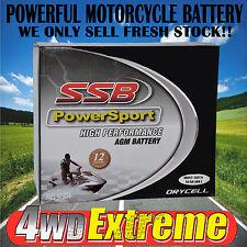 SSB RTX20LBS 12V AGM Motorcycle Battery
