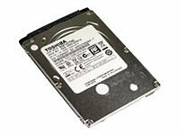 "Toshiba 2.5"" Laptop Internal Hard Drive 500GB HDD 7200RPM SATA DELL WIN 10 PRO"