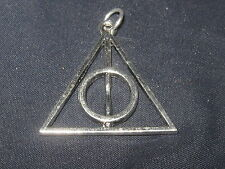 HARRY POTTER DEATHLY HALLOWS WIZARD WORLD USA CHARM PENDANT NECKLACE