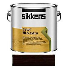 SIKKENS Cetol Holzschutz Extra Wetterschutz-Farbe UV-Schutz 020 ebenholz 5 L