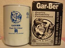 Spin-On Fuel Oil Filter for Oil Heat Equipment by GAR-BER