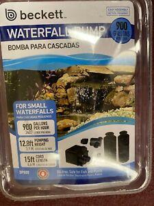 Beckett Waterfall Pump Outdoor 900 GPH 720160 DP800 NEW NIB