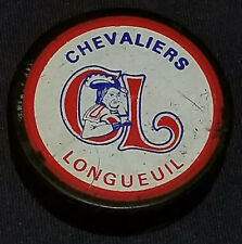 1980's - LONGUEUIL CHEVALIERS - QMJHL - VICEROY - CANADA - HOCKEY PUCK