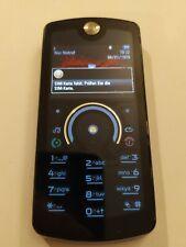 Motorola ROKR E8 schwarz Tastenhandy ähnlich Razr Kult Design mit OVP Retro
