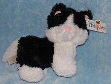 Nat & Jules Fluff-A-Luvs Plush Kitty Cat Kittina Black & White Soft Stuffed Toy