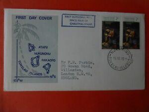 First Day of Issue Tokelau Islands 16th Nov 1970