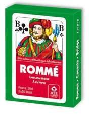 10x Senioren Romme Spielkarten je 2x55 BlattCanasta Bridge Kartenspiel Karten