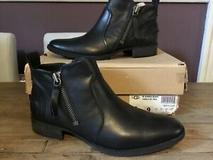 UGG Aureo Boots Leather Ankle Boots UK 6