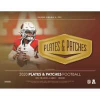 2020 Panini Plates & Patches FOOTBALL Hobby Box FACTORY SEALED BOX NFL