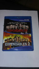 Expendables 1 & 2 BlueRays FREE SHIPPING LOWER 48 STATES