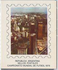 54364 - FOOTBALL - ARGENTINA -  POSTAL HISTORY: 1978 World Championship STAMPS