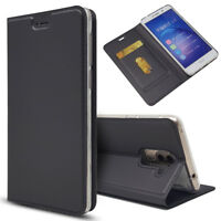 Magnetic PU Leather Flip Case Shockproof Card Cover for Huawei Honor 6X