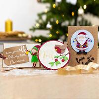 Christmas Metal Cutting Dies Stencil DIY Scrapbooking Paper Card Craft Embossing
