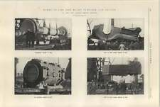 1925 Parts Of 7150 Bhp Blast Furnace Gas Engine