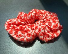 American Eagle Red Floral Embroidered Scrunchie - Great Condition