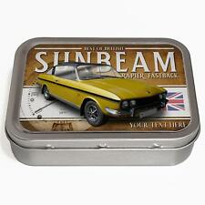 Personalised Sunbeam Rapier fastback 2oz Tobacco Tin Classic Car Baccy Gift CL48