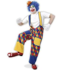 "KarnevalsTeufel Clownskostüm ""Chico"" Latzhose, Karneval Fasching  12270213F"