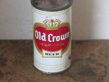 OLD CROWN BEER.    STUNNING INSIDE. FLAT TOP