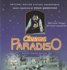 Cinema Paradiso-1989-Original Italy Movie Soundtrack-17 Track-Cd
