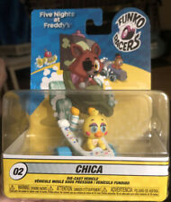 Five Nights at Freddy's -2018 Chica Super Racer - FunKo #02 Die-Cast Vehicle NEW