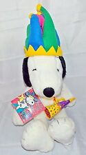 Snoopy Macy's Plush Stuffed Dog Jester 2000 Limited Edition Millennium
