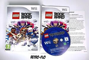 Lego Rockband - Jeu Nintendo Wii - Complet Comme NEUF - PAL