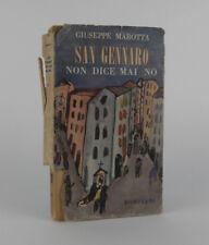 San Gennaro non dice mai no MAROTTA Bompiani 1951