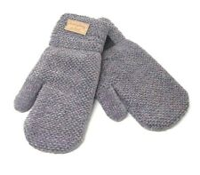 Winter Mittens, Warm Gloves, Color Grey
