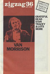 Zigzag issue 36 - October 1973 [UK] - Magazine