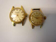 Vintage Women's Watch Lot 2  SLAVA 17 jewels Gold Tone