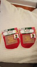 Bag O' Coal You've been Naughty .. Gag gift .. 2 Bags of Coal Stocking Stuffer