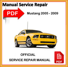 Ford Mustang 2005 2006 2007 2008 2009 Factory Service Repair Workshop Manual