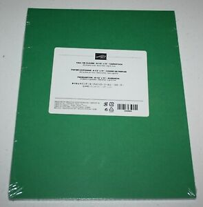 Stampin Up Retired CALL ME CLOVER CARDSTOCK 24 Sheets Green NEW