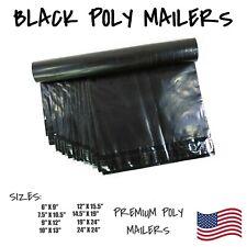 Black Poly Mailers Shipping Envelope Packaging Bags Self Sealing Mailing Bag