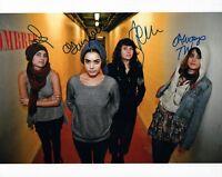 WARPAINT Signed Autographed 8x10 Photo Full Band COA VD