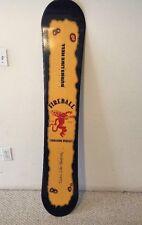 Fireball Whiskey Snowboard
