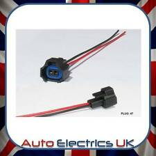 2 PIN FUEL INJECTOR CONNECTOR PLUG PREWIRED EASY FITTING - FITS SUBARU TOYOTA +