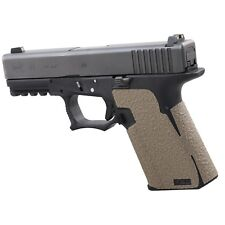 Talon Grips for Polymer80 PF940C and PFC9 in Moss Color Rubber Texture 267M