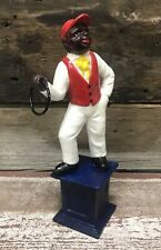 Cast Iron Civil War Era-Styled Hitching Post Underground Railroad 11� Statue