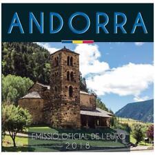 Andorra BU set 2018 1 cent t/m 2 euro Andorre euro coin