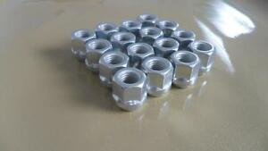 ONE SET OF 16 NEW OPEN END BULGE ACORN 1/2-20 LUG NUTS 1/2 THREAD