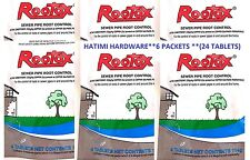 6 X ROOTOX REMOVES & CONTROL OF ROOTS IN SEWER PIPES (4 IN PK) DAVID GRAY 114g