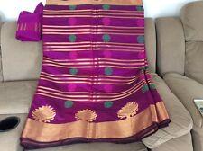Indian Pakistani Banarsi handloom Saree Lehenga ethnic indian clothing outfit