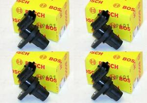 Mercedes C280 Set of 4 OEM Bosch Camshaft Position Sensors 0232103114 2729050043